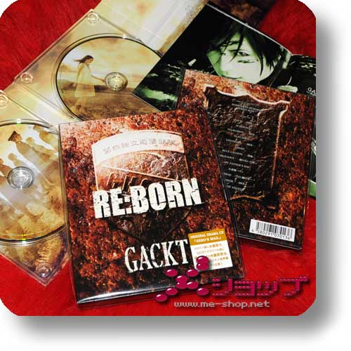 GACKT - RE:BORN (2CD) (Re!cycle)-0