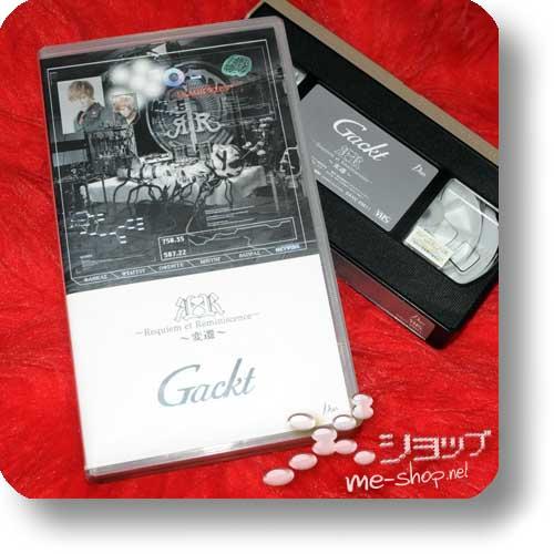 GACKT - Requiem et Reminiscence -Hensen- (Doku-VHS / Fanclub only) (Re!cycle)-0