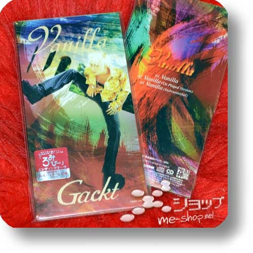 "GACKT - Vanilla (Single-CD 3""/8cm) (Re!cycle)-0"