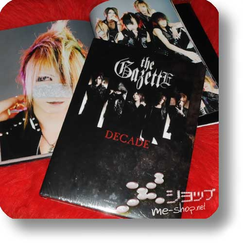 THE GAZETTE - DECADE (Foto+Doku-Buch)-0