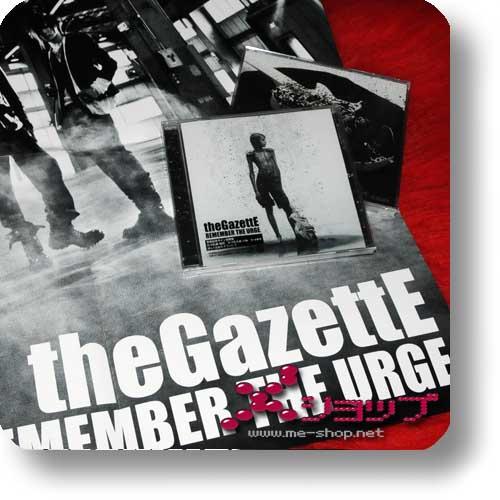 THE GAZETTE - Remember the urge (inkl.Bonustrack) +Bonus-Poster!-0