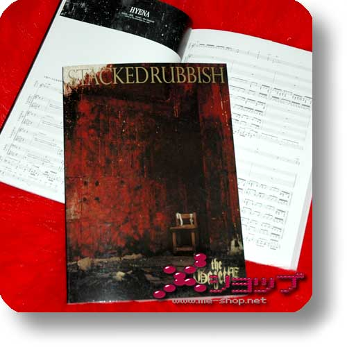 THE GAZETTE - Stacked Rubbish BAND SCORE (Notenbuch)-0