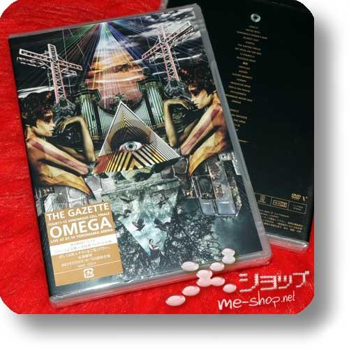 THE GAZETTE - Tour 11-12 Venomous Cell Finale OMEGA (2DVD)-0