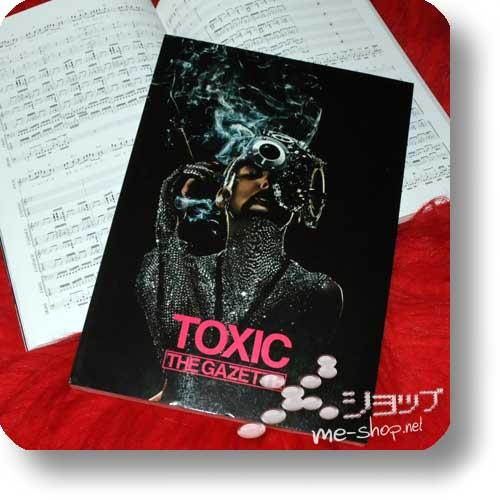 THE GAZETTE - TOXIC OFFICIAL BAND SCORE (Notenbuch)-0