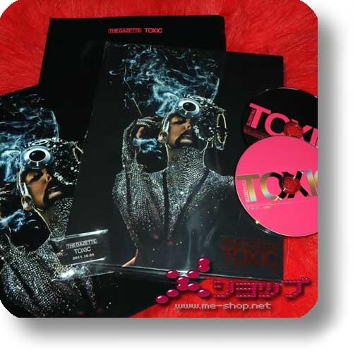 THE GAZETTE - TOXIC lim.CD+DVD+Photobook+Bonus-Dogtag/Bag-0