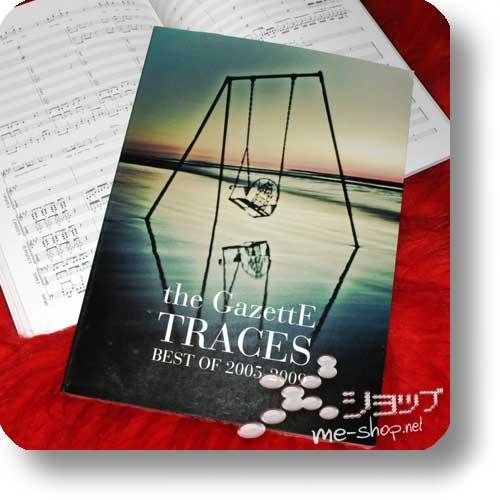 THE GAZETTE - TRACES Best of 2005-2009 Official Band Score (Notenbuch)-0