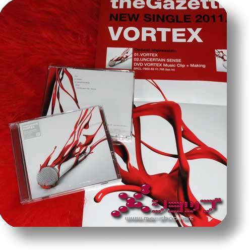 THE GAZETTE - VORTEX (Optical Impression CD+DVD) +Bonus-Promoposter!-0