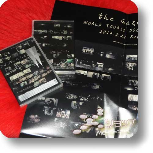 THE GAZETTE - World Tour13 Documentary (DVD) +BONUS-PROMOPOSTER!-0