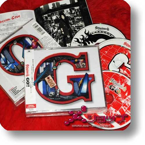 GIRUGAMESH (girugämesh) - GO LIM. 2CD+DVD-0