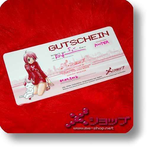 me-shop Geschenkgutschein 5 Euro (VERSANDKOSTENFREI! ^_^)-0