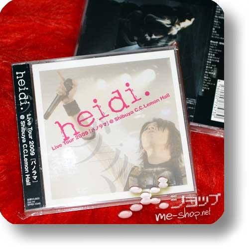 heidi. - Live Tour 2009 [Panorama] @ Shibuya C.C.Lemon Hall (CD+DVD) (Re!cycle)-0