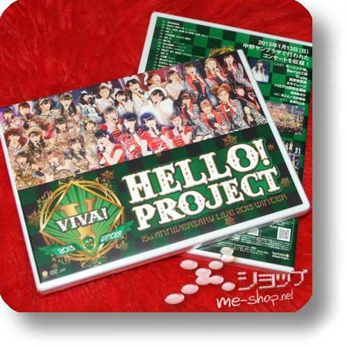 HELLO! PROJECT - 15th Anniversary Live 2013 Winter VIVA! (Live-DVD)-0