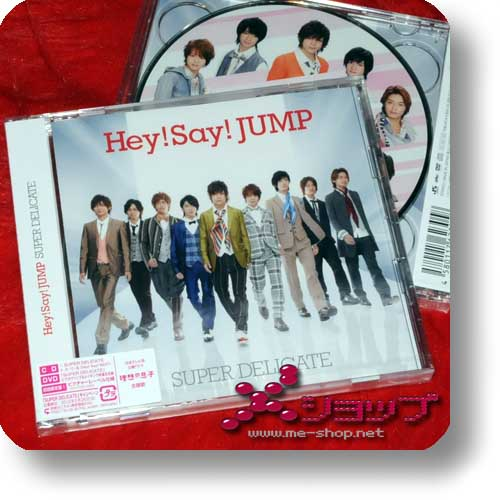 Hey!Say!JUMP - Super Delicate LIM.CD+DVD Type 1-0