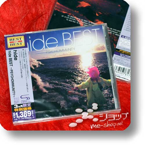 hide - BEST ~Psychommunity~ LIM.REISSUE 2014 (SHM-CD) Special Price!-0