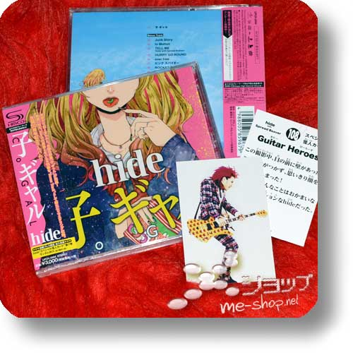 hide - Co GAL (lim.1.Press SHM-CD) +Bonus-Tradingcard!-0