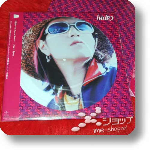 "hide with Spread Beaver- ever free lim. 12""/30cm Vinyl Picture Disc (analog)-0"