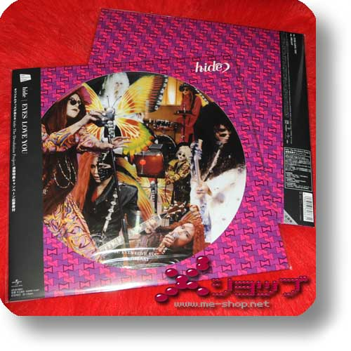 "hide - EYES LOVE YOU lim. 12""/30cm Vinyl Picture Disc (analog)-0"