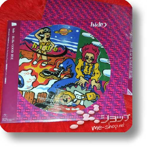 "hide - Hi-Ho/GOOD BYE lim. 12""/30cm Vinyl Picture Disc (analog) feat. TOKYO SKA PARADISE ORCHESTRA-0"