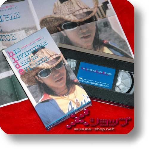 hide - his invincible deluge evidence (VHS) (Re!cycle)-0
