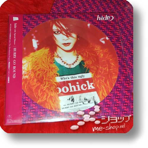 "hide with Spread Beaver- HURRY GO ROUND lim. 12""/30cm Vinyl Picture Disc (analog)-0"