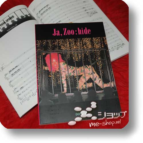 hide - Ja, Zoo OFFICIAL BAND SCORE (Notenbuch)-0