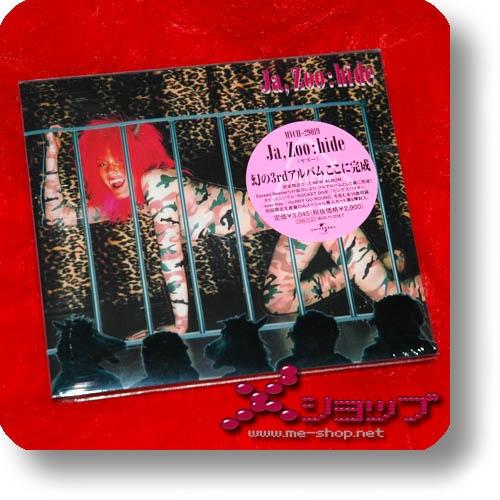 hide - Ja, Zoo (lim.1.Press Sticker-Digipak) (Re!cycle)-27693