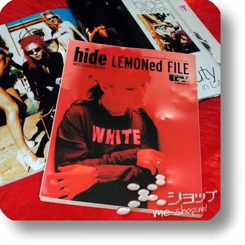 hide LEMONed FILE (uv special) BUCH / ORIG.1998! (Re!cycle)-0