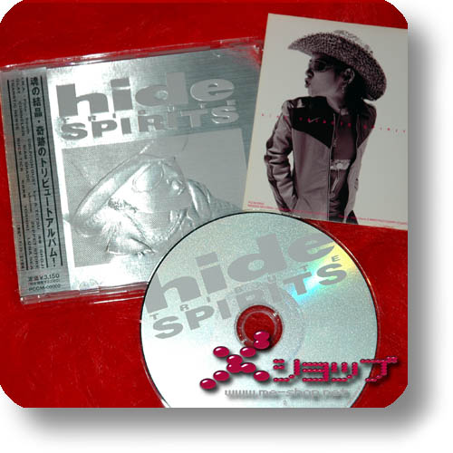 hide Tribute - SPIRITS (1.Press inkl. Bonus-Sticker!) (Re!cycle)-0