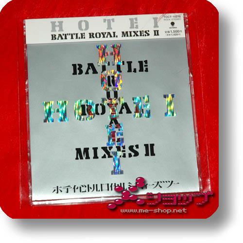 HOTEI - Battle Royal Mixes II LIM. (FLUKE, MOLOKO) (Re!cycle)-0
