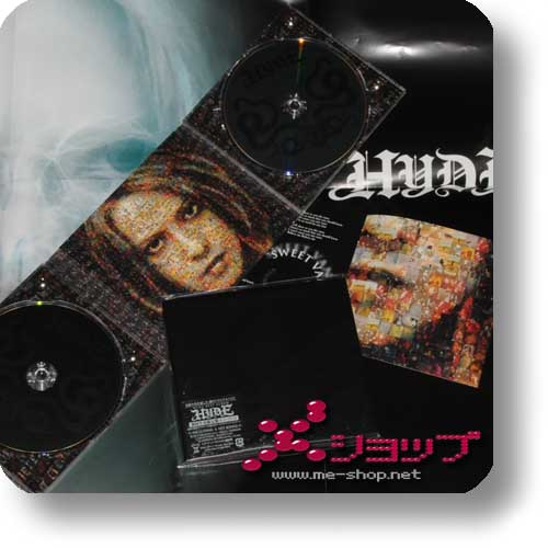 HYDE - HYDE BEST ALBUM (lim.CD+DVD Thermo-Digipak) +PROMOPOSTER!-0