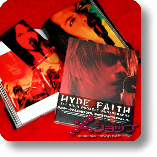 HYDE - FAITH 3rd solo project photographs (FOTOBUCH)-0