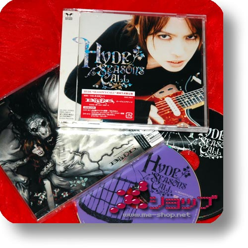 HYDE - Season's Call LIM.CD+DVD (BLOOD+)-0