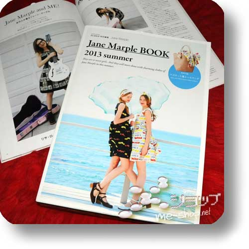 JANE MARPLE BOOK 2013 Summer (inkl. Original Basket Bag!) Fashion-Magazin-0