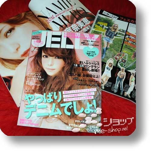 JELLY 09/2012 - Fashion- & Lifestyle-Mag NAMIE AMURO-Titel!-0