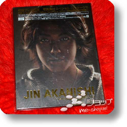 JIN AKANISHI - Yellow Gold Tour 3011 LIM.DVD+A4-Photobook (B-Type) (KAT-TUN)-0