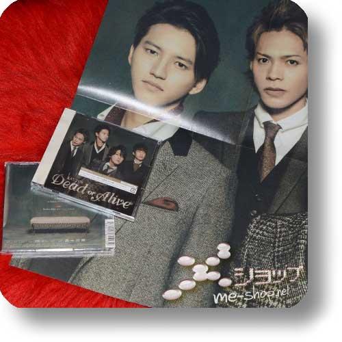 KAT-TUN - Dead or Alive (LIM.CD+DVD Type 1) +Bonus-Promoposter!-0