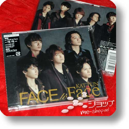 KAT-TUN - FACE to Face (lim.CD+DVD A-Type)-0