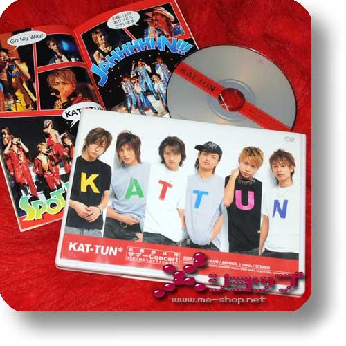 KAT-TUN - Okyakusama wa kami Summer-Concert...(DVD) (Re!cycle)-0