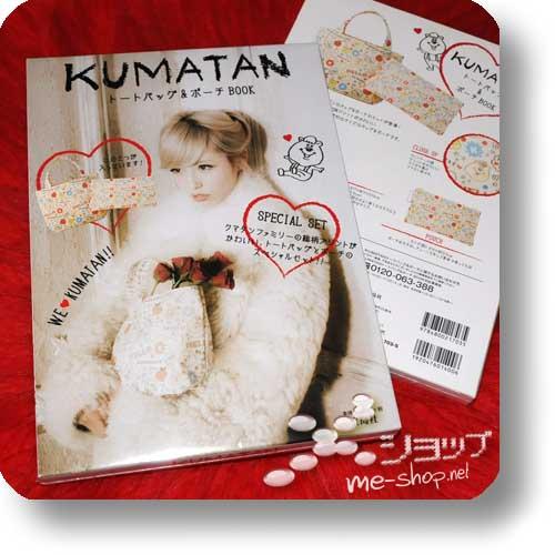KUMATAN Tote Bag & Pouch Book (inkl.2 original KUMATAN-Taschen!)-0