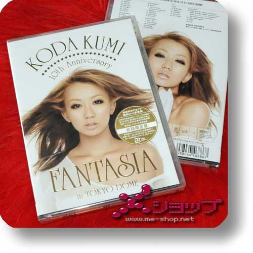 KUMI KODA - 10th Anniversary FANTASIA 2DVD lim.1.Press-0