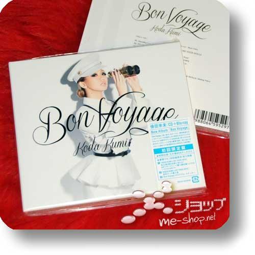 KUMI KODA - Bon Voyage CD+Blu-ray lim.1.Press -0