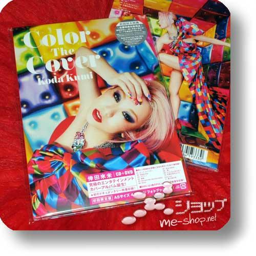 KUMI KODA - Color The Cover LIM.CD+DVD+Photobook-0