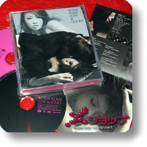 KUMI KODA - Love & Honey CD+DVD (Re!cycle)-0