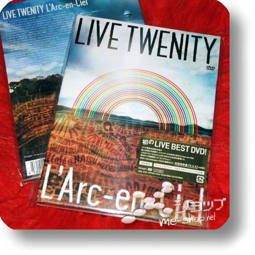 L'ARC~EN~CIEL - LIVE TWENITY (LIVE-DVD / LIM.DIGIPAK)!-0