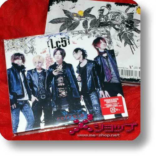 Lc5 - refrain LIM.CD+DVD B-Type (miku / An Cafe)-0