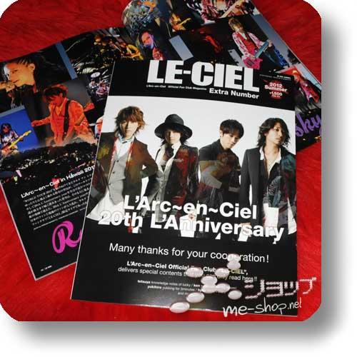 LE-CIEL - L'ARC~EN~CIEL Fanclub Mag Extra Number 2012 Summer-0