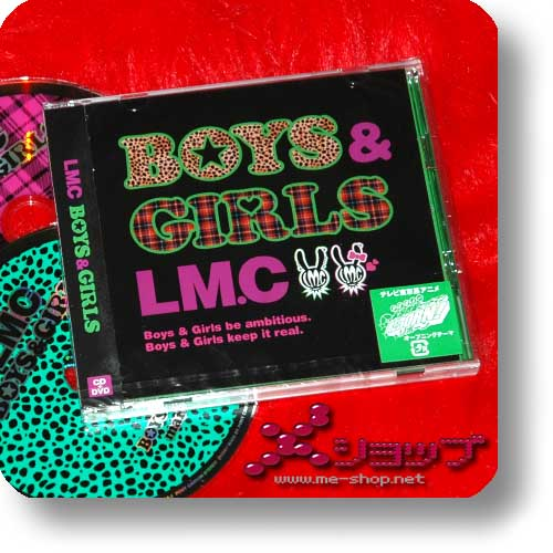 LM.C - BOYS & GIRLS (LIM.CD+DVD / REBORN!) (Re!cycle)-0