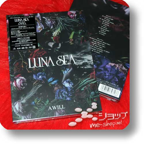 LUNA SEA - A WILL LIM.PREMIUM PACKAGE SHM-CD+Blu-ray+Photobook-0