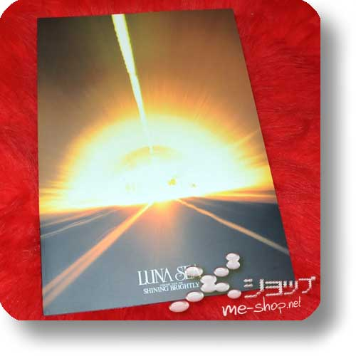 LUNA SEA - CONCERT TOUR 1998 SHINING BRIGHTLY Original Tour Pamphlet (Re!cycle)-0