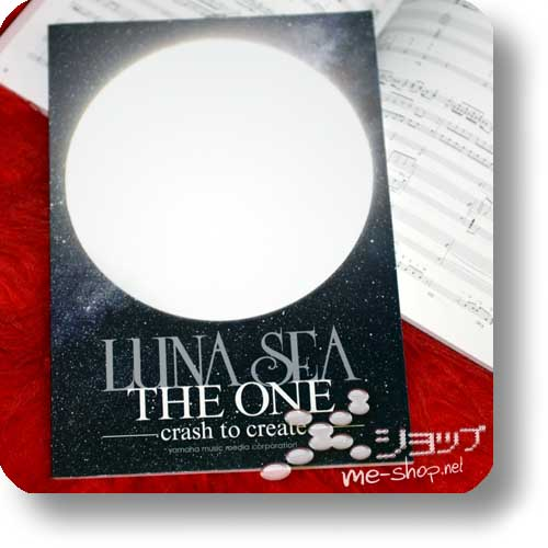 LUNA SEA - THE ONE -cash to create- BAND SCORE (Notenbuch)-0